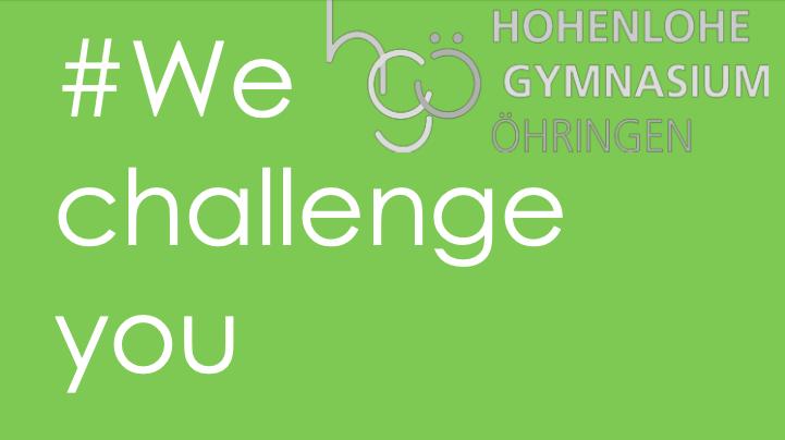 #We challenge you