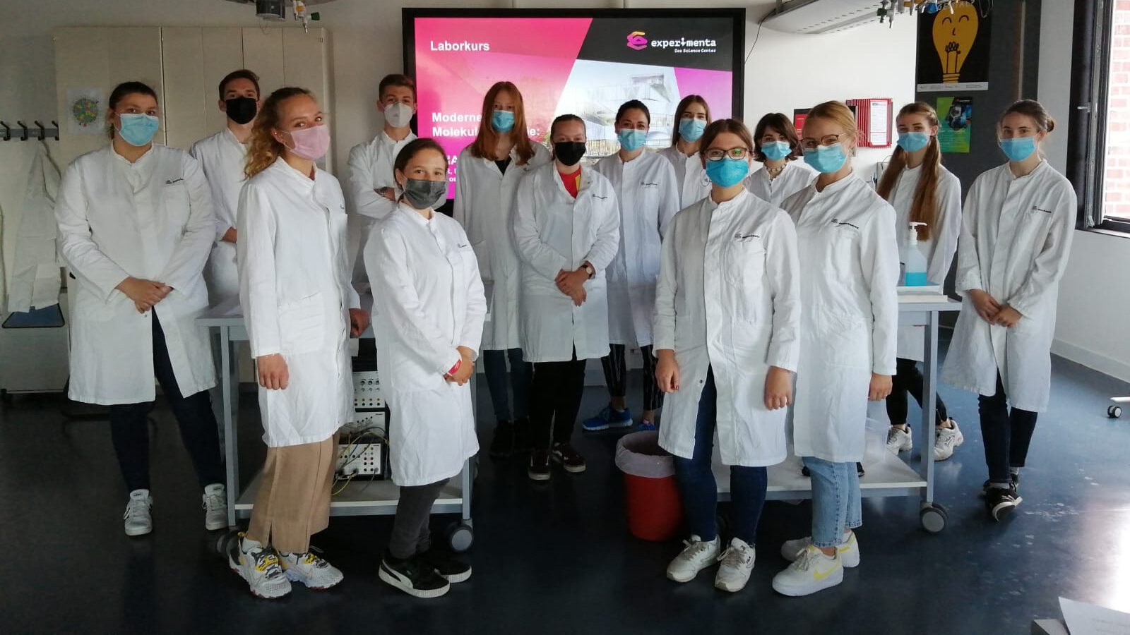 Exkursion zur Experimenta des Biologie-LK