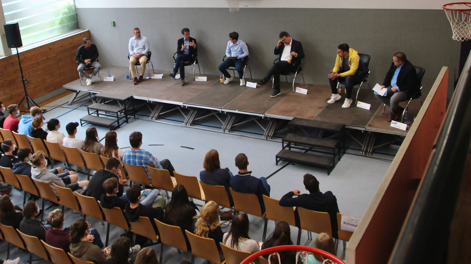 Politik hautnah erleben – Podiumsdiskussion am HGÖ